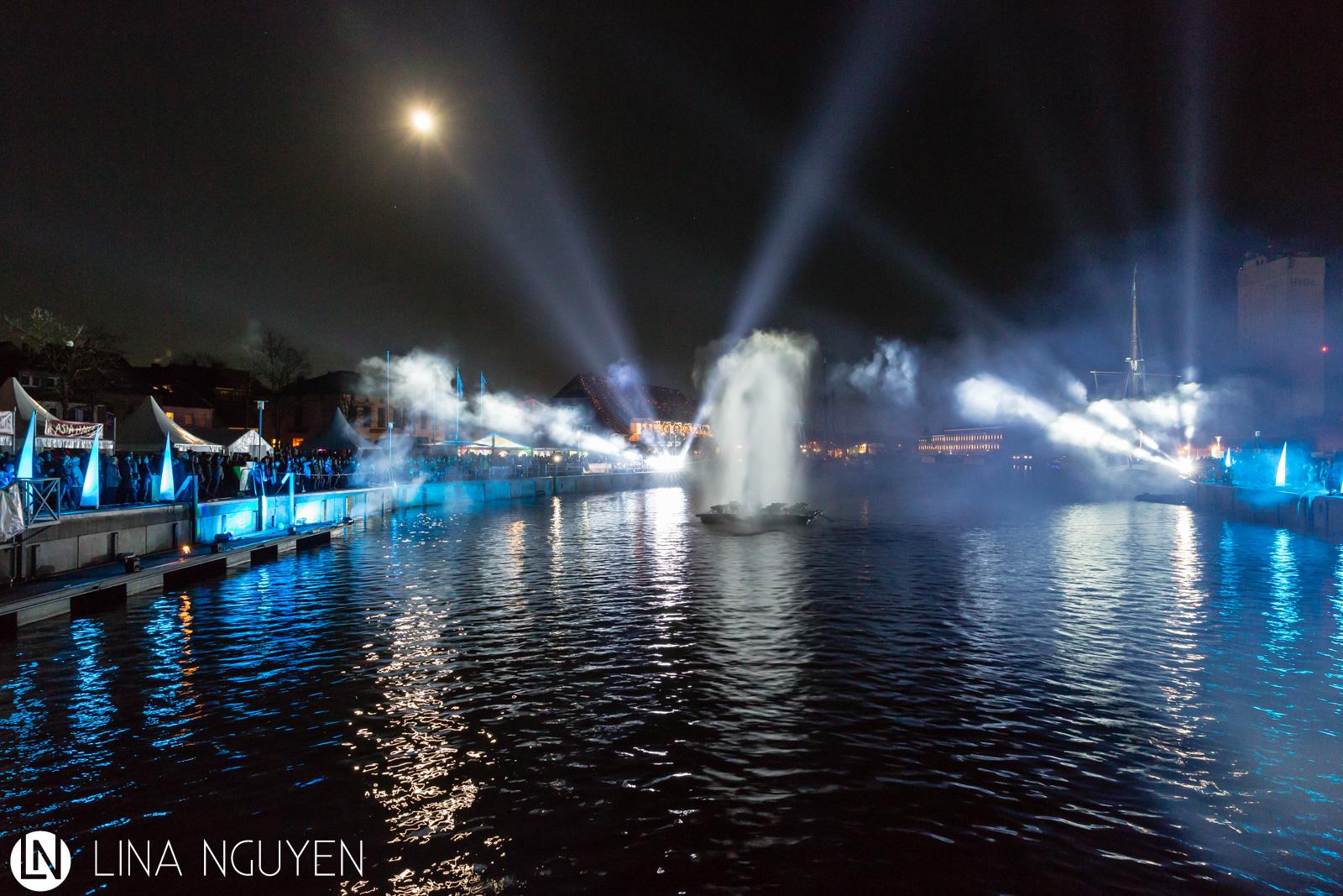 Lichtshow in Neustadt (2015)